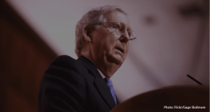 Mitch McConnell led efforts to cut $1.6 trillion in critical funding for CDC and NIH research, compromising response and prevention of the pandemic.