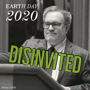 Recent actions by the Environmental Protection Agency's current leadership cast a sad reality– that the EPA should sit out Earth Day this year.
