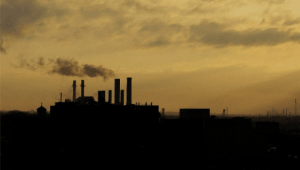 A Pandemic of Pollution / Photo: Smog on the skyline