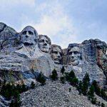 Trump's Fireworks at Mt Rushmore / Photo of Mt. Rushmore
