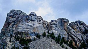 Trump's Fireworks at Mt Rushmore / Photo of Mt. Rushmore
