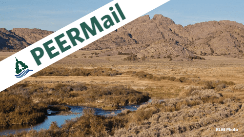 PEERMail: BLM Must Embrace Climate Solutions