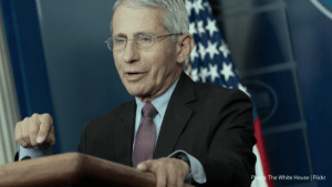 Schedule F: America's Toxic Politics is Killing Us | White House Photo | Dr. Anthony Fauci
