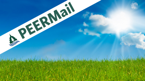 PEERMail | Sunshine Week: Not Letting Our Guard Down