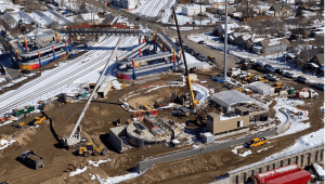 Interstate expansion in Commerce City, Colorado