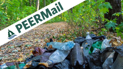 PEERMail | Plastic Free Parks Are Possible!