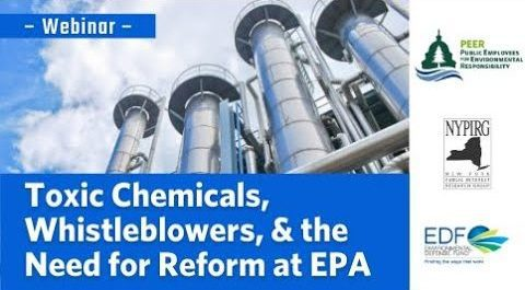 Webinar | Toxic Chemicals, Whistleblowers, and the Need for Reform at EPA